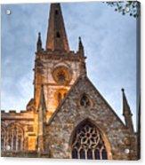 Church Of The Holy Trinity Stratford Upon Avon 2 Acrylic Print