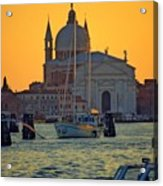 Church Of The Redentore In Venice Acrylic Print by Michael Henderson