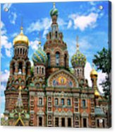 Church Of The Spilled Blood Acrylic Print