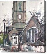Church On Chelsea Embankment Acrylic Print