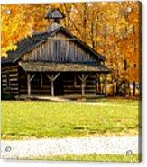 Church School 1 Acrylic Print by Franklin Conour