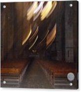 church Spirit Orb Palma de Mallorca Acrylic Print