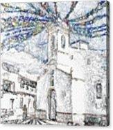 Church Square Acrylic Print