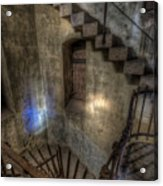 Church Stairs Above Acrylic Print