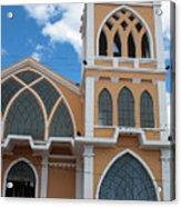 Church Steeple In Ibarra Acrylic Print