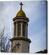Church Steeple Nashville Acrylic Print