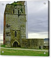 Church Tower - Remains Of St Helens Church Acrylic Print