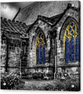 Church Windows Acrylic Print