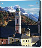 Churches In Berchtesgaden Acrylic Print