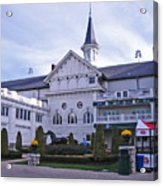 Churchill Downs Paddock Area Behind The Twin Spires Acrylic Print