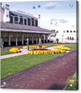 Churchill Downs Paddock Area Acrylic Print