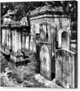 Churchyard Of Old Charleston Acrylic Print