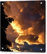 Churning Clouds 2 Acrylic Print