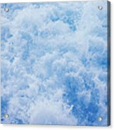Churning Water Acrylic Print