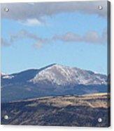 Cibola Mountains Acrylic Print