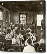 Cigar Factory, 1909 Acrylic Print by Granger