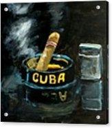Cigar Acrylic Print