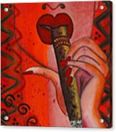 Cigar Moment Corona Cigar Acrylic Print