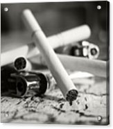 Cigarette And Lighters Acrylic Print