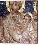Cimabue: Madonna Acrylic Print by Granger