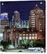 Cinci From The Opposite Side Acrylic Print