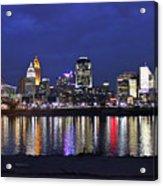 Cincinnati Night Lights Acrylic Print