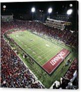 Cincinnati Nippert Stadium The Home Of Bearcat Football Acrylic Print by University of Cincinnati