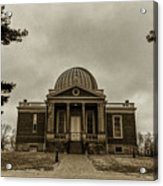 Cincinnati Observatory Acrylic Print