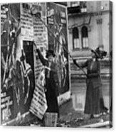 Cincinnati: Suffragettes Acrylic Print