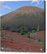 Cinder Cone And Painted Sands Acrylic Print