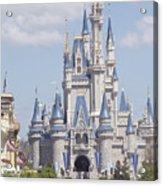 Cinderella Castle At Walt Disney World Acrylic Print