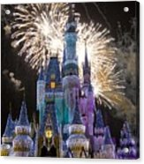 Cinderella Castle Spectacular Acrylic Print