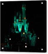 Cinderella's Astle Acrylic Print