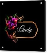 Cindy Acrylic Print