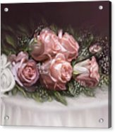 Spray Of  Roses Acrylic Print