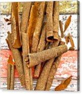 Cinnamon Bark Acrylic Print