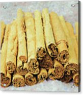 Cinnamon Sticks Acrylic Print