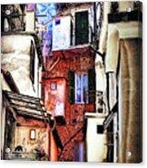 Cinque Terre All'aperto Acrylic Print