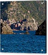 Cinque Terre Coast Acrylic Print
