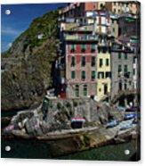 Cinque Terre Northern Italy Acrylic Print