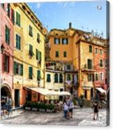 Cinque Terre - Vernazza Main Street Acrylic Print
