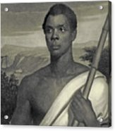 Cinque, The Chief Of The Amistad Captives Acrylic Print