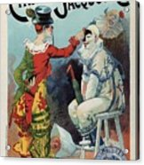 Cirage Jacquot And Cie - Vintage French Advertising Poster Acrylic Print
