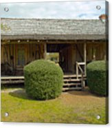 Circa 1900 Dogtrot Cabin Of Ephriam Brown From Lake Mills Florida Acrylic Print