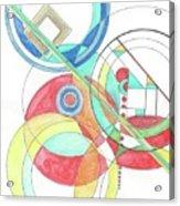 Circle Game Acrylic Print
