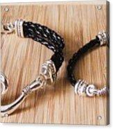 Circle Hook Bracelet Acrylic Print