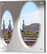 Circle Ot Tampa Acrylic Print