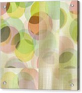 Circle Pattern Overlay II Acrylic Print