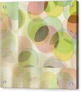 Circle Pattern Overlay Acrylic Print