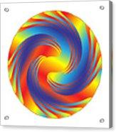 Circle Study No. 231 Acrylic Print